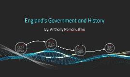 England's Goverment
