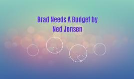 Brad Needs A Budget by