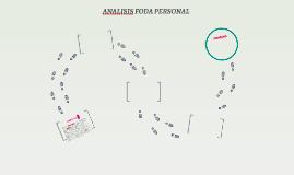 ANALISIS FODA PERSONAL