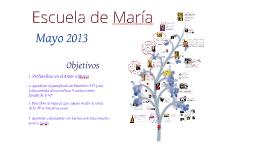 Mayo 2013. Escuela de María. Córdoba