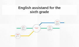 Copy of English assistand for the sixth grade