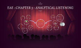 EAE : CHAPTER 3 - ANALYTICAL LISTENING