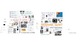 WWI & the Interwar Years