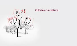 O léxico e a cultura