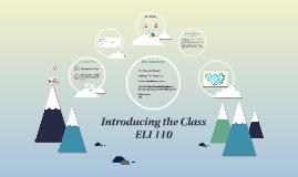 Copy of ELI Course