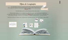 Tipos de Lenguajes en Educación