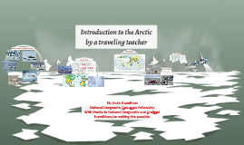 Introduction to the Arctic by a traveling teacher