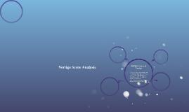 Vertigo Scene Analysis