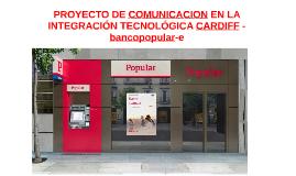 PROYECTO DE COMUNICACION EN LA INTEGRACIÓN TECNOLÓGICA CARDI