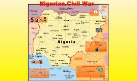 Copy of Nigerian Civil War
