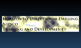 HDD Training Course - preliminary I