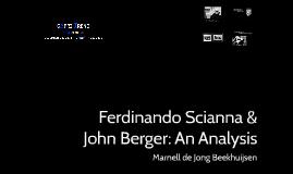 Ferdinando Scianna & John Berger