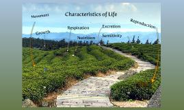 Copy of Characteristics of Life