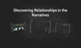 Unbutu: Recognizing Relationships in Narratives