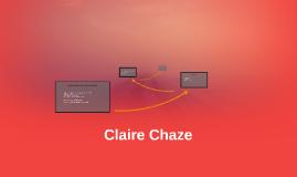 Claire Chaze