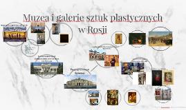 Muzea i galerie sztuk plastycznych
