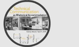 Copy of as Rhetorical Accommodation