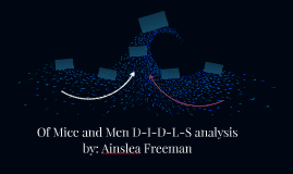 Of Mice and Men D-I-D-L-S analysis