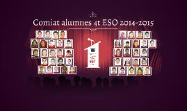 Comiat alumnes 4t ESO 2014-2015