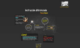 Copy of Instrucción diferenciada