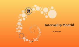 Internship Madrid