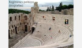 Regímenes políticos (biografías)