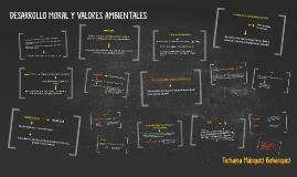 DESARROLLO MORAL Y VALORES AMBIENTALES