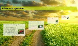 Robots en la agricultura