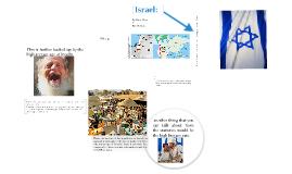 History Presentation: Israel
