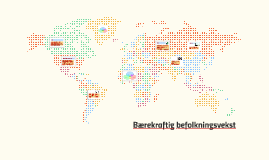 Bærekraftig befolkningsvekst