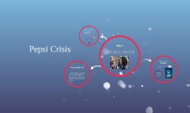 Pepsi Crisis