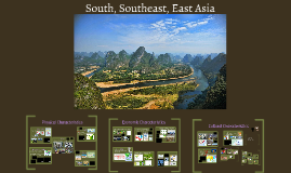 South, Southeast, East Asia