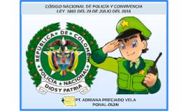 Copy of Copy of codigo nacional de policia ley 1801 del 29 de julio del 2016