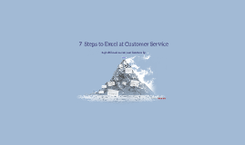 7 Steps to Excel at Customer Service
