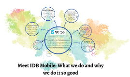Meet IDB: What we do and why we do it so good