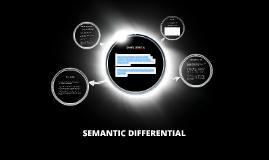 Copy of SEMANTIC DIFFERENTIAL