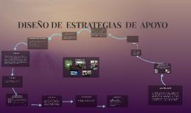 DISEÑO DE  ESTRATEGIAS  DE  APOYO