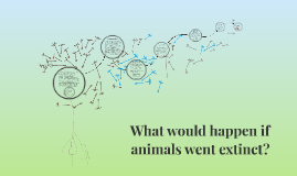 What would happen if animals went extinct?