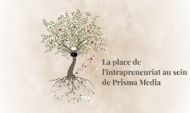 La place de l'intrapreneuriat au sein de Prisma Media