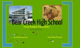 Bear Creek High School Visual Analysis