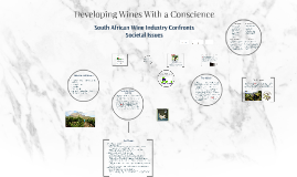 Developing Wines With a Conscience