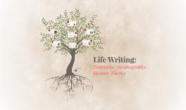 Life Writing: