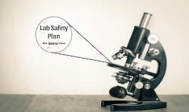 Lab Safety Plan