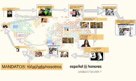 español iii honores