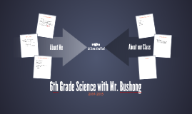 6th Grade Science with Mr. Bushong
