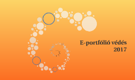 E-portfólió védés
