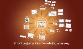 SHINE Project @ ESA Workshop_2