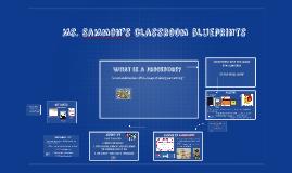 Ms. Sammon's classroom blueprints