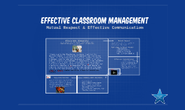 Effective classroom managment