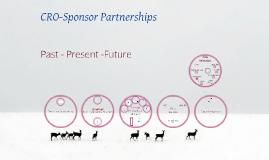 CRO-Sponsor partnerships